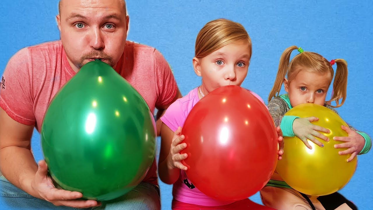 Photo of ALISA plays with Balloons ! Fun playtime with children ! Сollection of children's videos