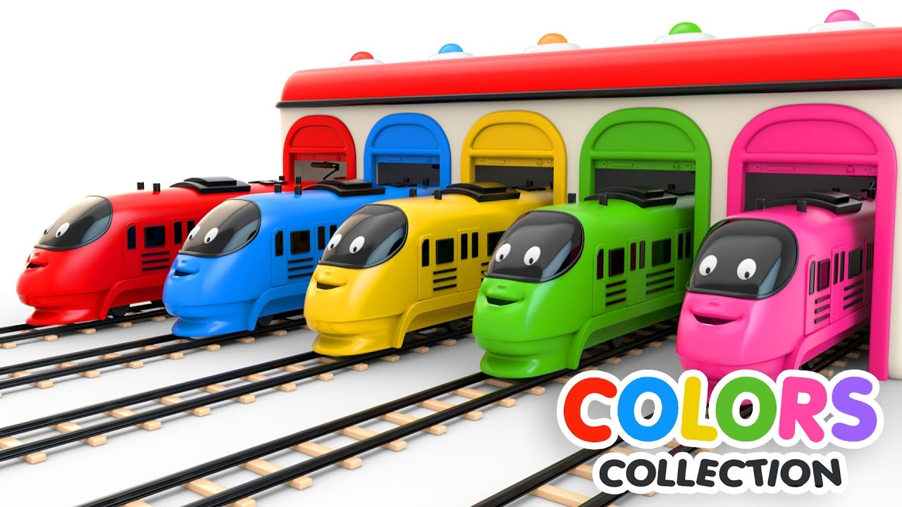 Photo of Colors for Children to Learn with Toy Trains – Colors Videos Collection