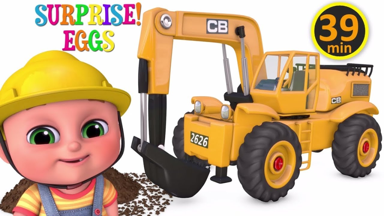 Photo of Excavator videos for children | Construction trucks for children | Trucks for children  – Jugnu kids