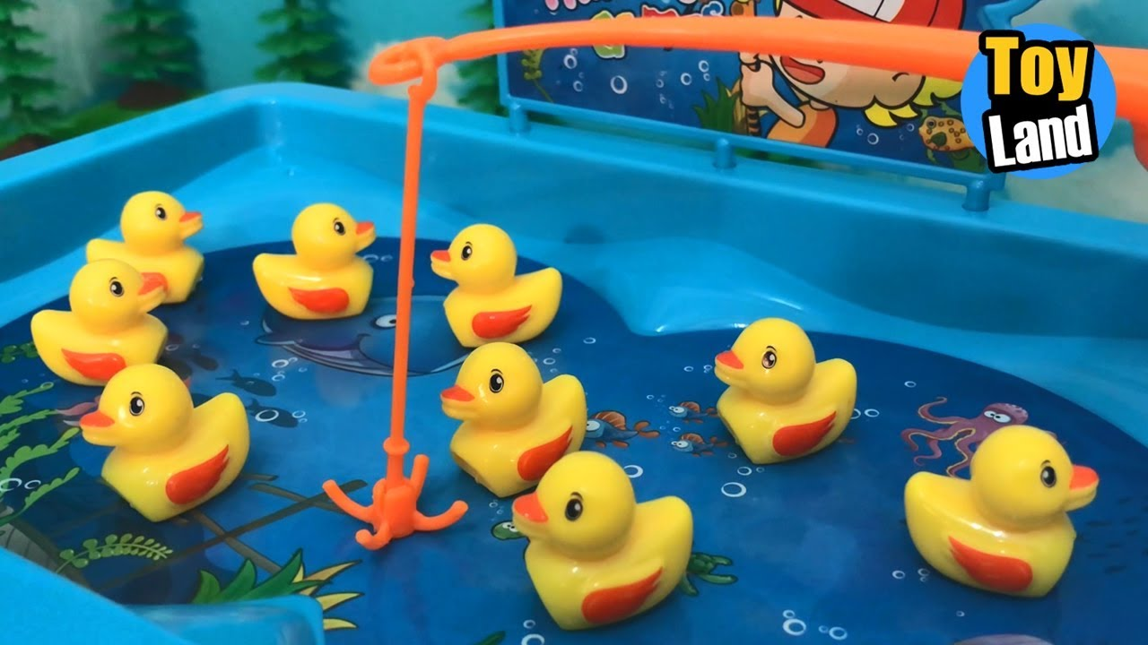 Photo of Lucky Duck for Children  Fishing Videos for Children  Fishing for Kids | TOYLAND
