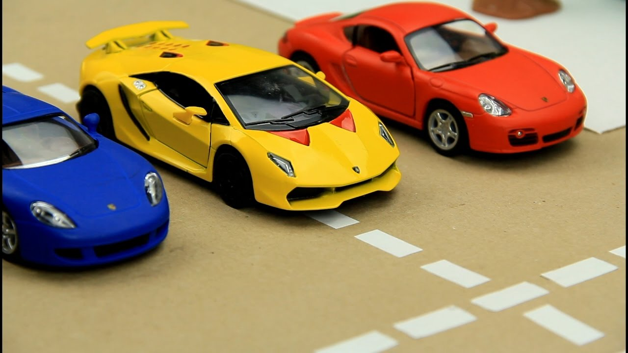 Photo of Kids video about Race Cars & Sports Car Race in the City for children