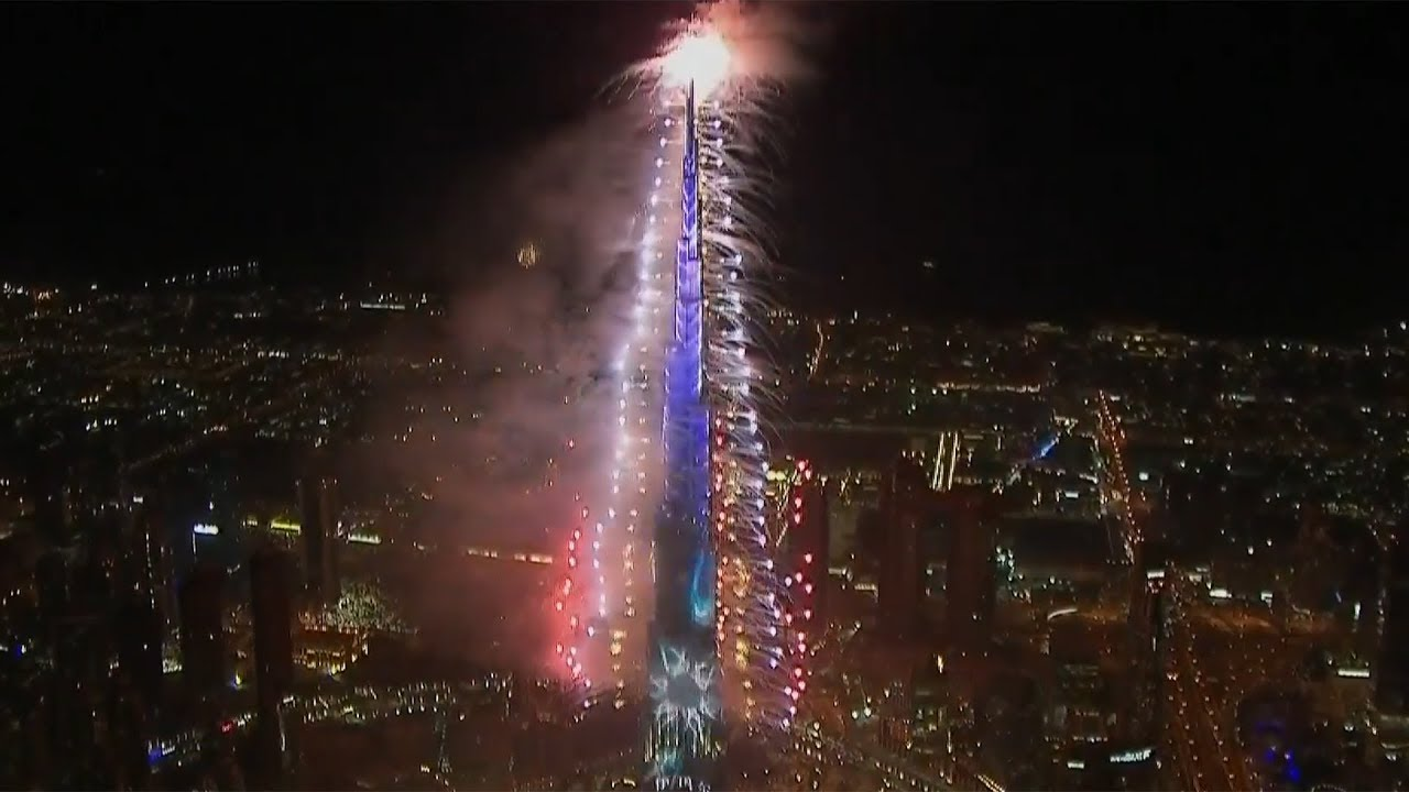 Photo of Watch Dubai New Year 2019 fireworks in full