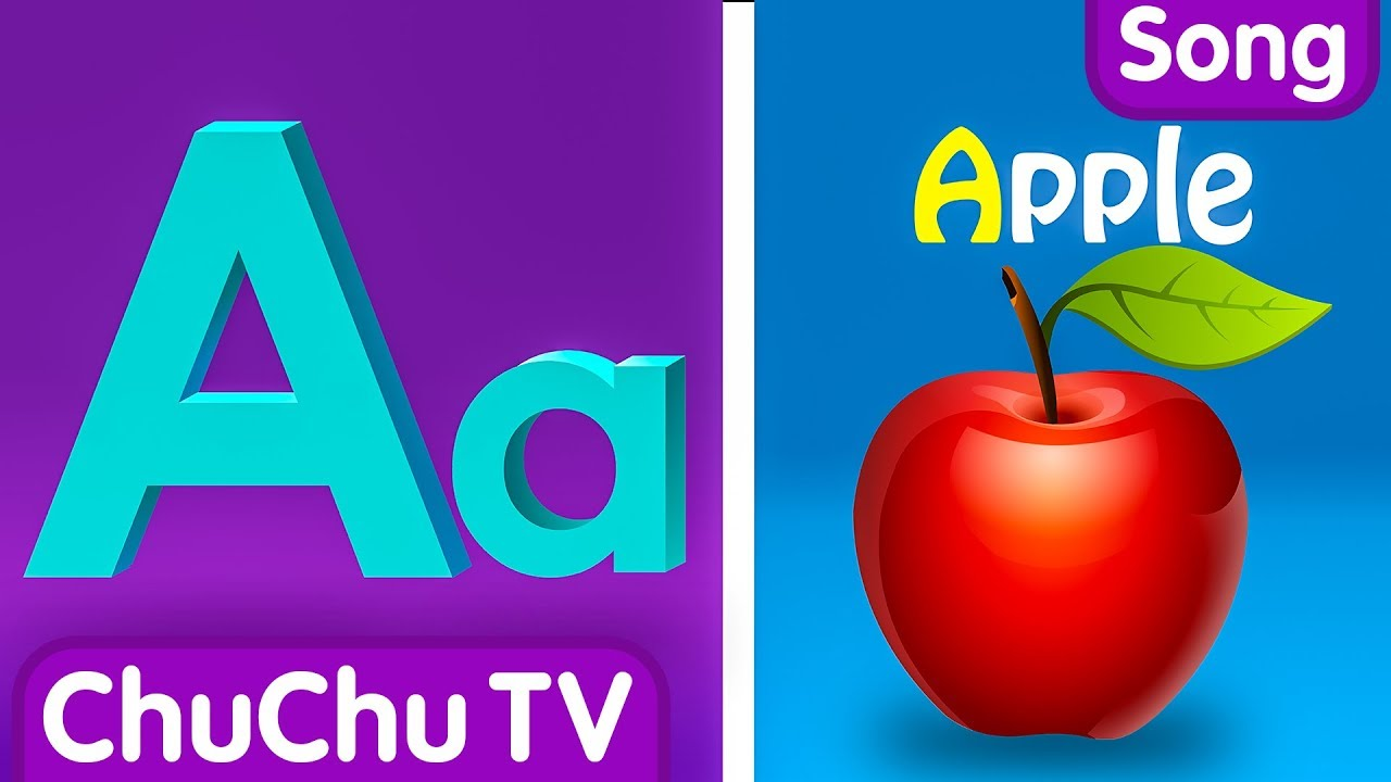 Photo of Phonics Song with TWO Words – A For Apple – ABC Alphabet Songs with Sounds for Children