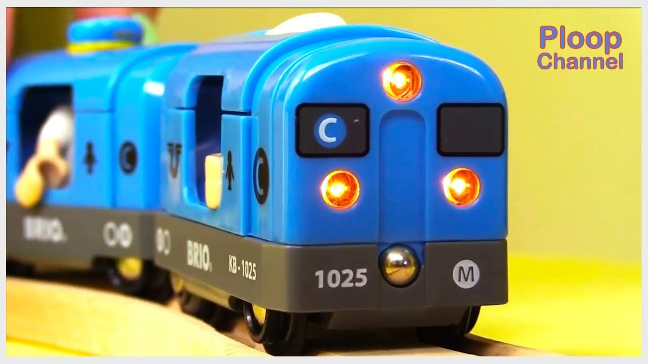 Photo of Kid's MEGA Choo-Choo TOY TRAIN COMPILATION for Kids – Children's Animation Videos for kids BRIO Toys