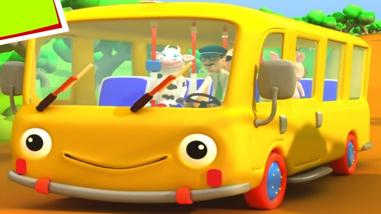 Photo of Wheels on the Bus! Songs for Children – Baby Music Videos 👶 Kids Nursery Rhymes
