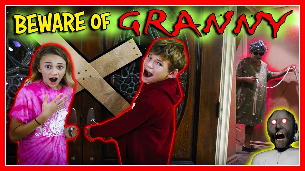 Photo of GRANNY GAME IN REAL LIFE! | We Are The Davises