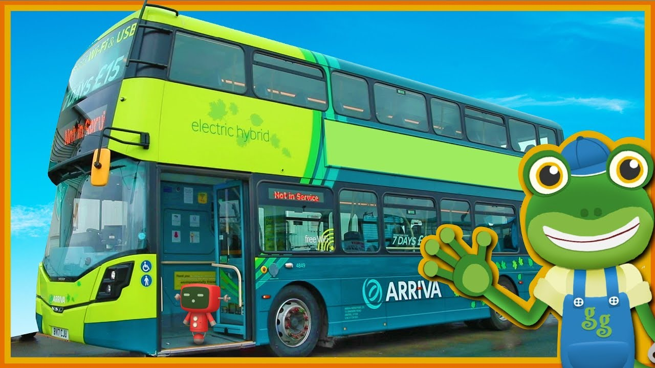 Photo of Double Decker Bus Videos For Children | Gecko's Real Vehicles