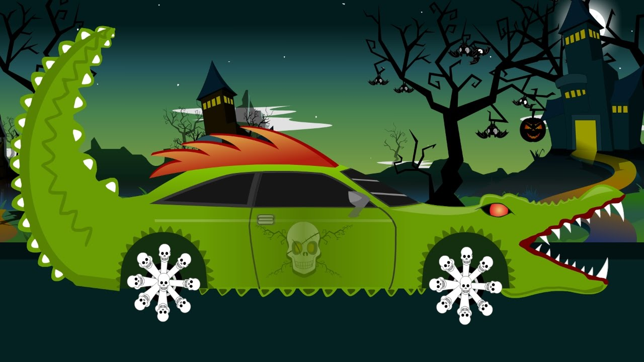 Photo of Monster Car | Good Vs Evil | Scary Car Wash Videos for Children | Halloween Videos for Kids