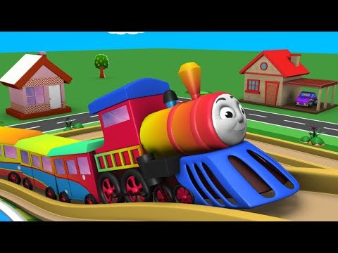 Photo of Cartoon Train for Children – Toy Factory Trains – Videos for Kids – Police Cartoon – Toy Train Video