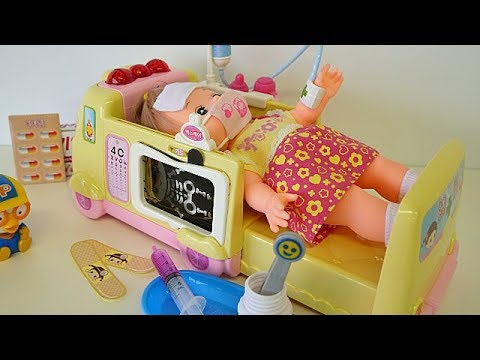 Photo of Ambulance baby doll Doctor toy video for children