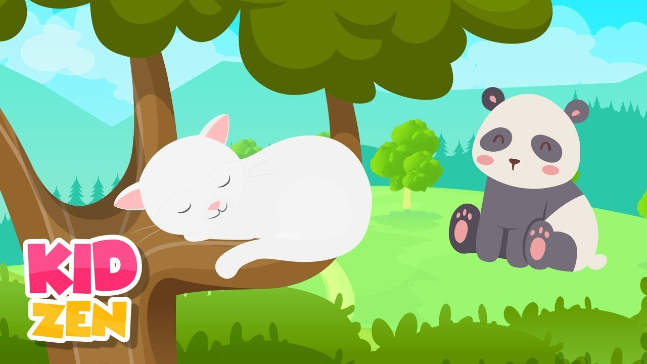 Photo of Relaxing Music For Children – Be Calm and Focused (cute animals)