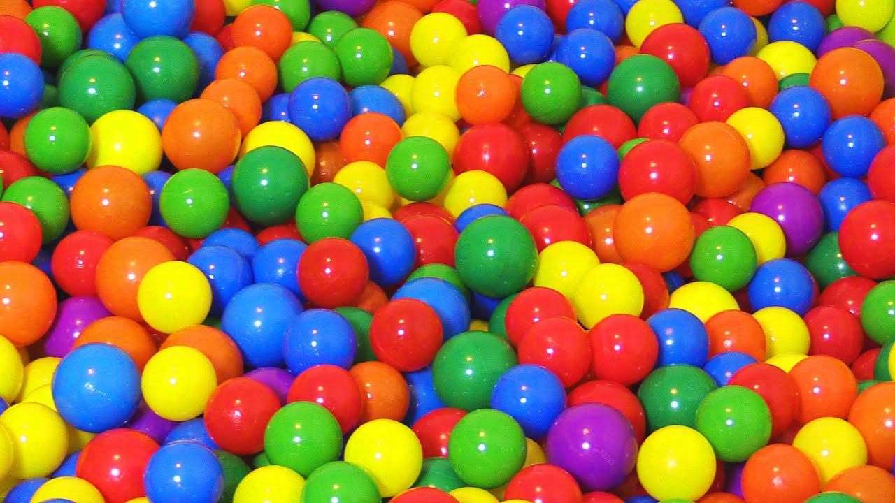 "Photo of ""The Ball Pit Show"" for learning colors — children's educational video"
