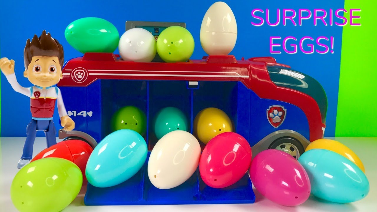 Photo of Fun Colors with Paw Patrol Mission Surprise Eggs   for Kids & Children