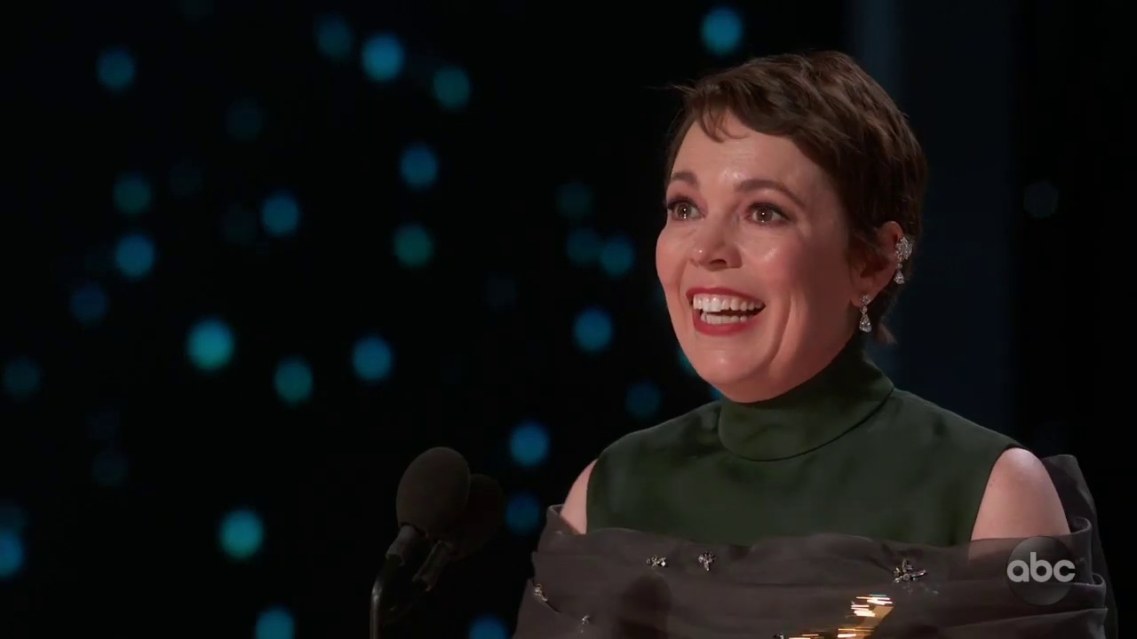 Photo of Olivia Colman's 2019 Oscar Acceptance Speech for Best Actress