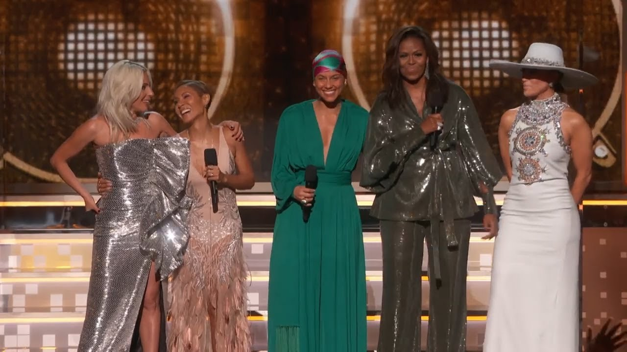 Photo of Alicia Keys, Michelle Obama, Lady Gaga Open The 2019 GRAMMYs