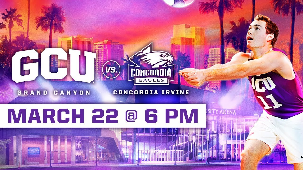 Photo of GCU Men's Volleyball vs. Concordia Irvine March 22, 2019