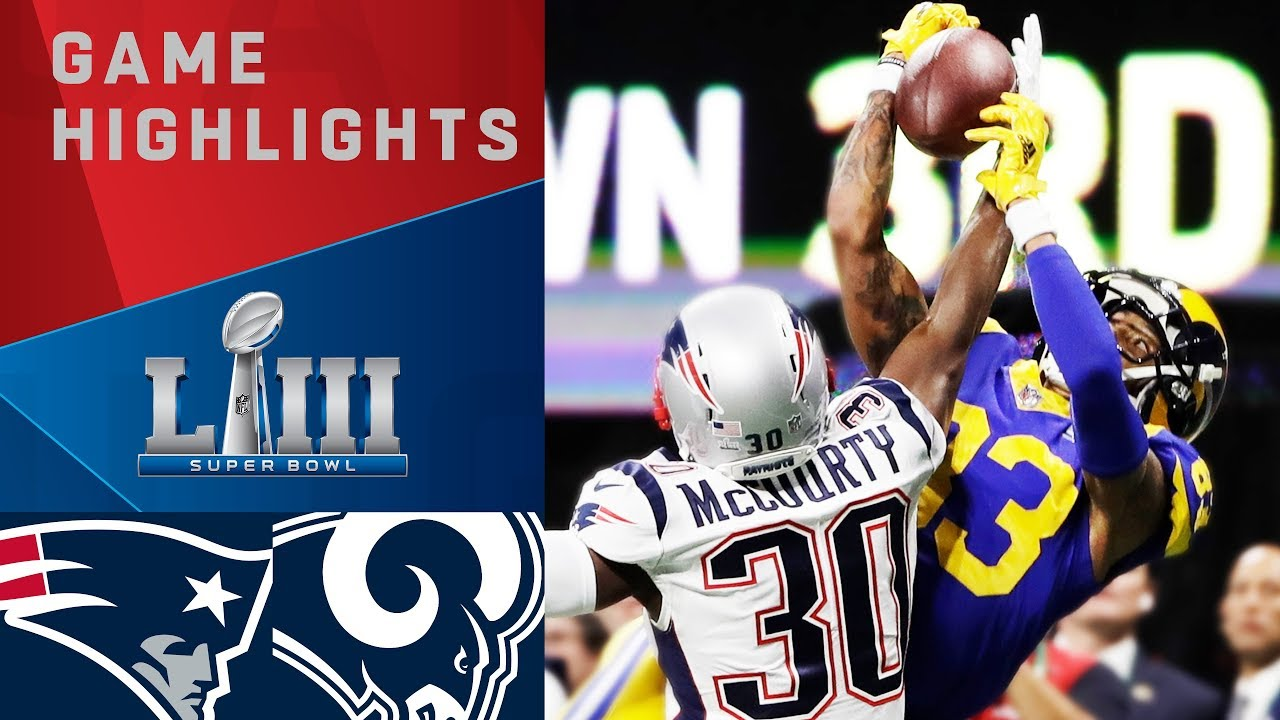 Photo of Patriots vs. Rams | Super Bowl LIII Game Highlights