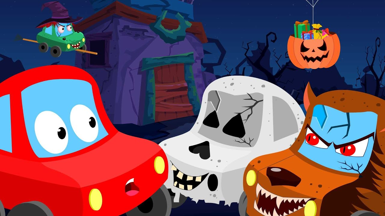 Photo of Little Red Car| trick or treat| Halloween videos for children