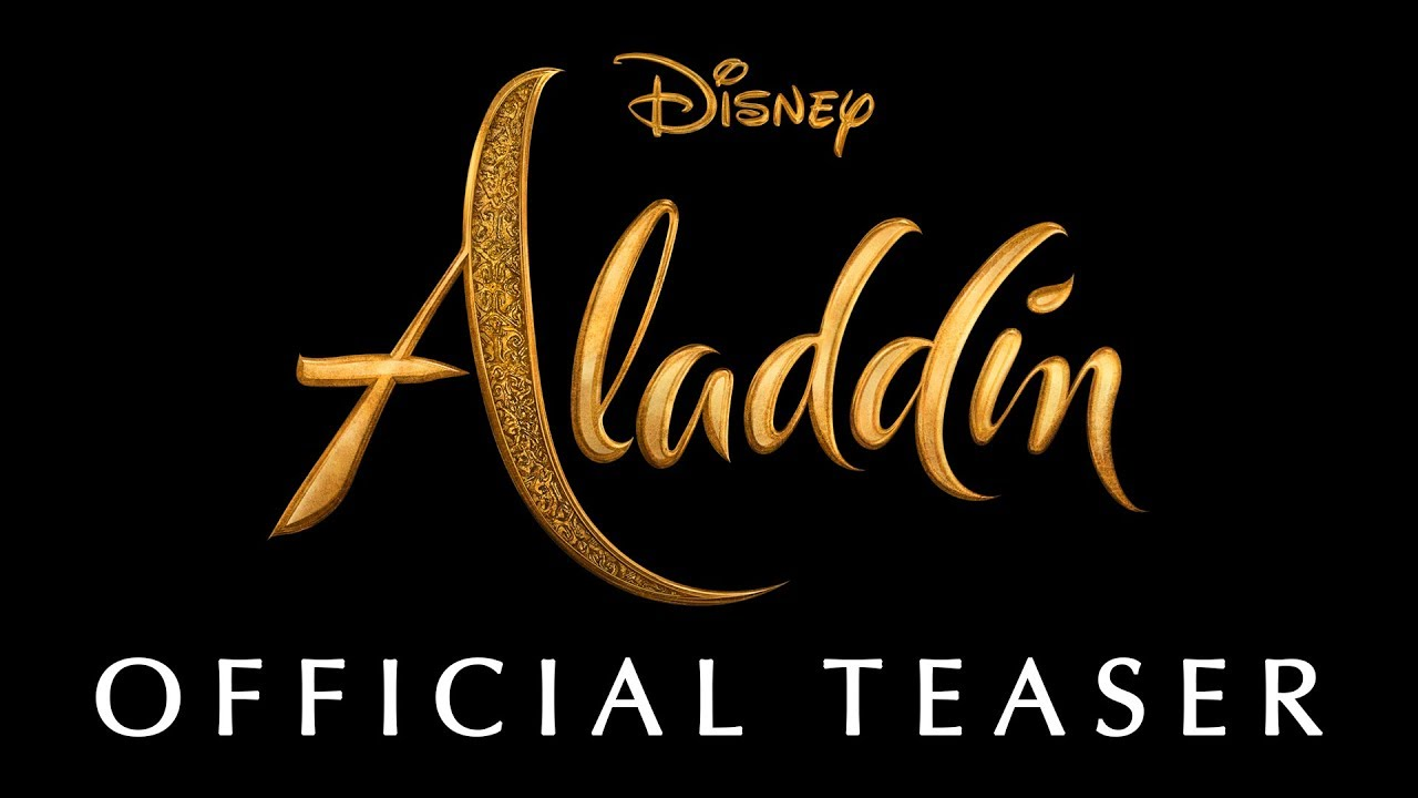 Disney's Aladdin Teaser Trailer – In Theaters May 24th, 2019