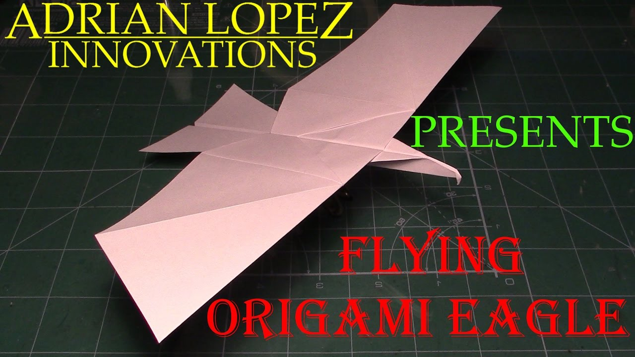 Photo of How to Make a Flying Eagle Paper Airplane, BEST paper planes in the world