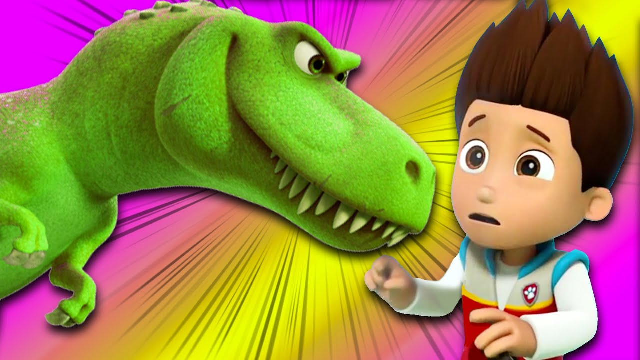 Photo of Paw Patrol ask Groovy to transform into a dinosaur! Cartoons for children & Nursery Rhymes