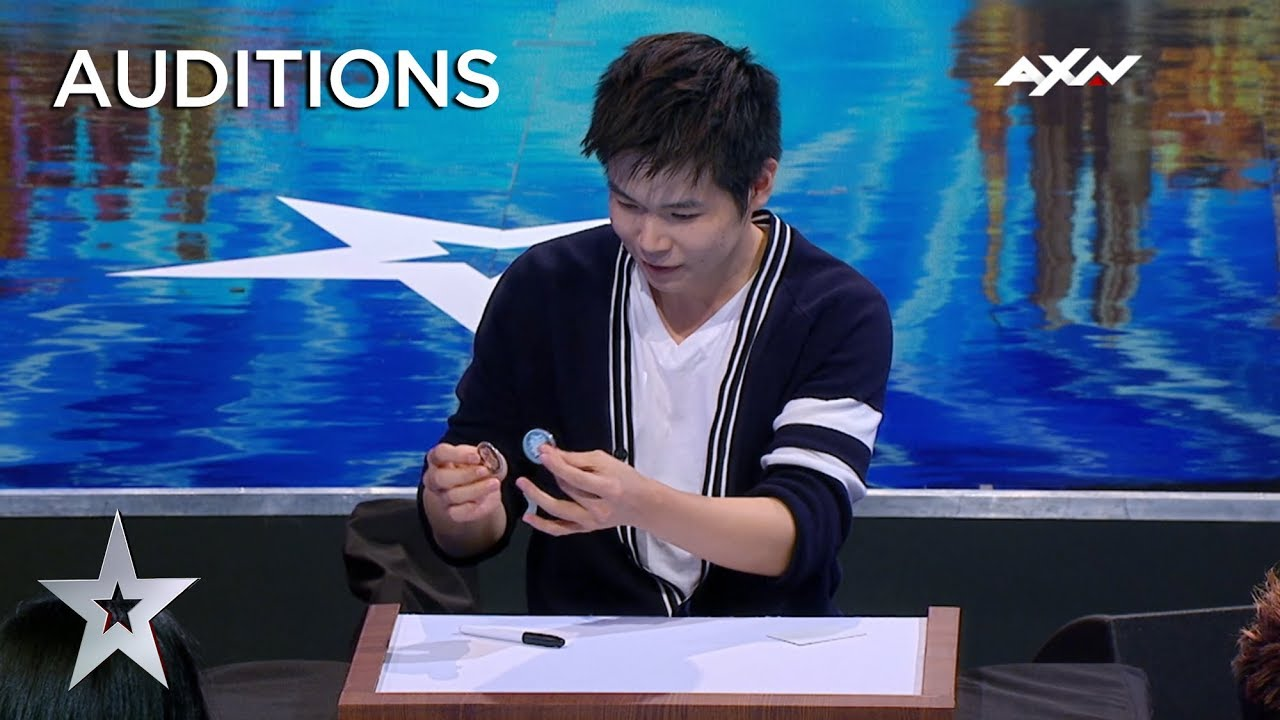 Photo of Magician Eric Chien MAKES COIN PHYSICALLY DISAPPEAR!   Asia's Got Talent 2019 on AXN Asia