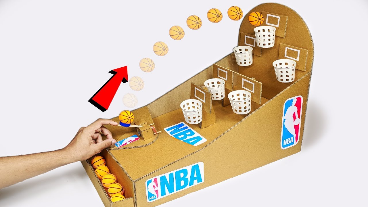 Photo of How to make NBA Basketball Board Game using Cardboard