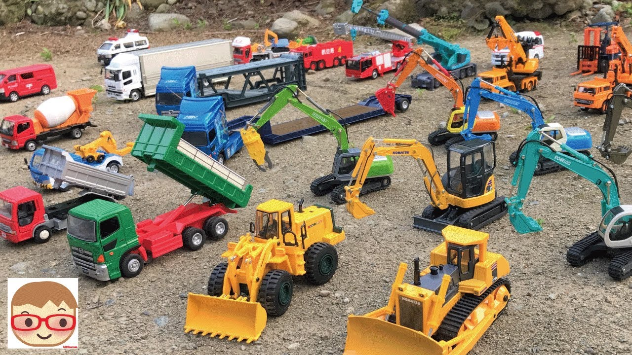 Photo of Excavator videos for children | Trucks for children | Construction trucks for children |