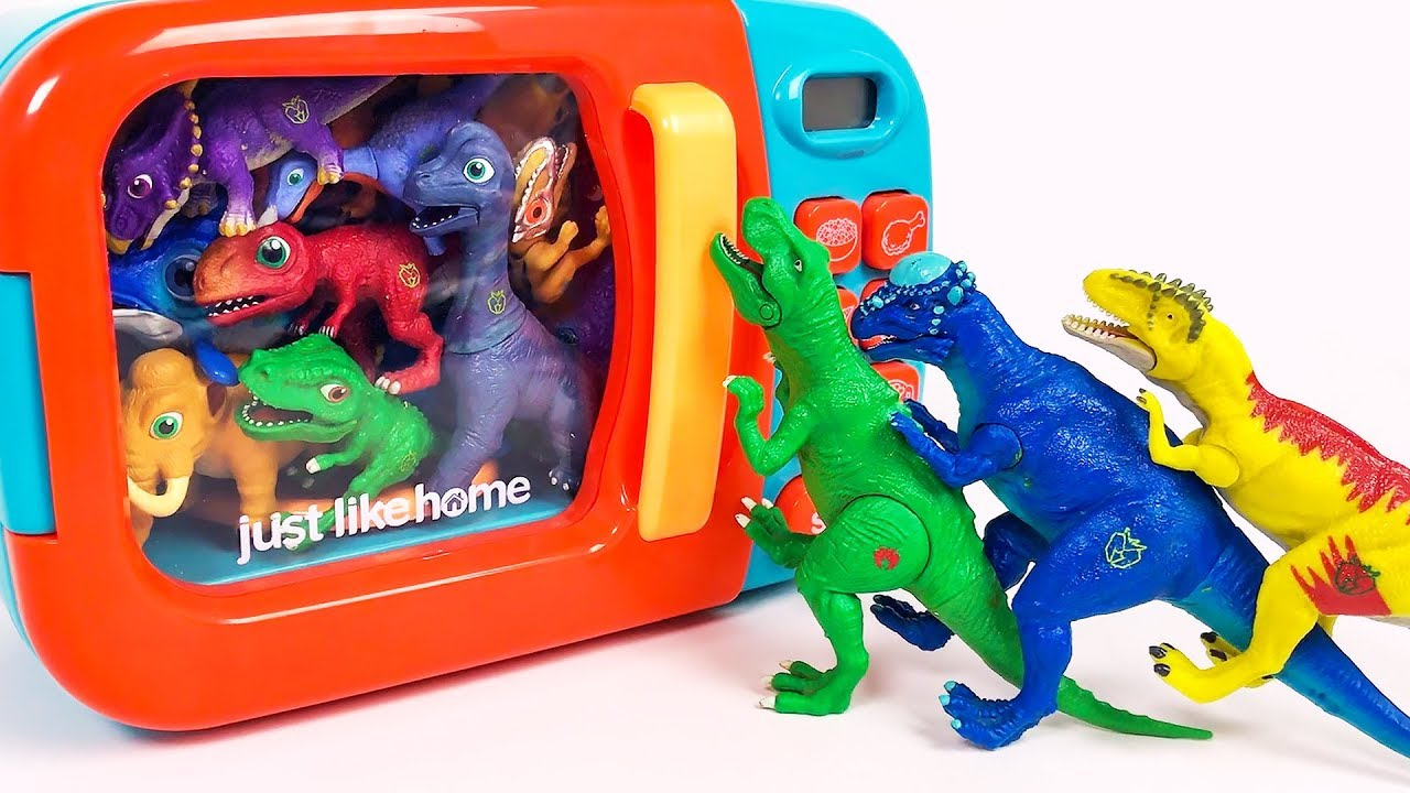 Photo of Learn Colors with Dinosaurs For Kids | Educational Video | Toy Dinosaurs for Children
