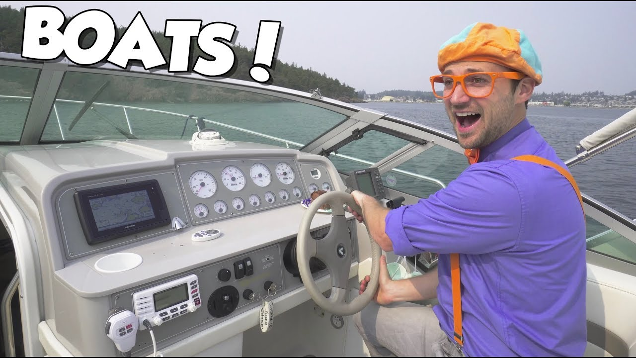 Photo of Boats for Children with Blippi | Educational Videos for Toddlers