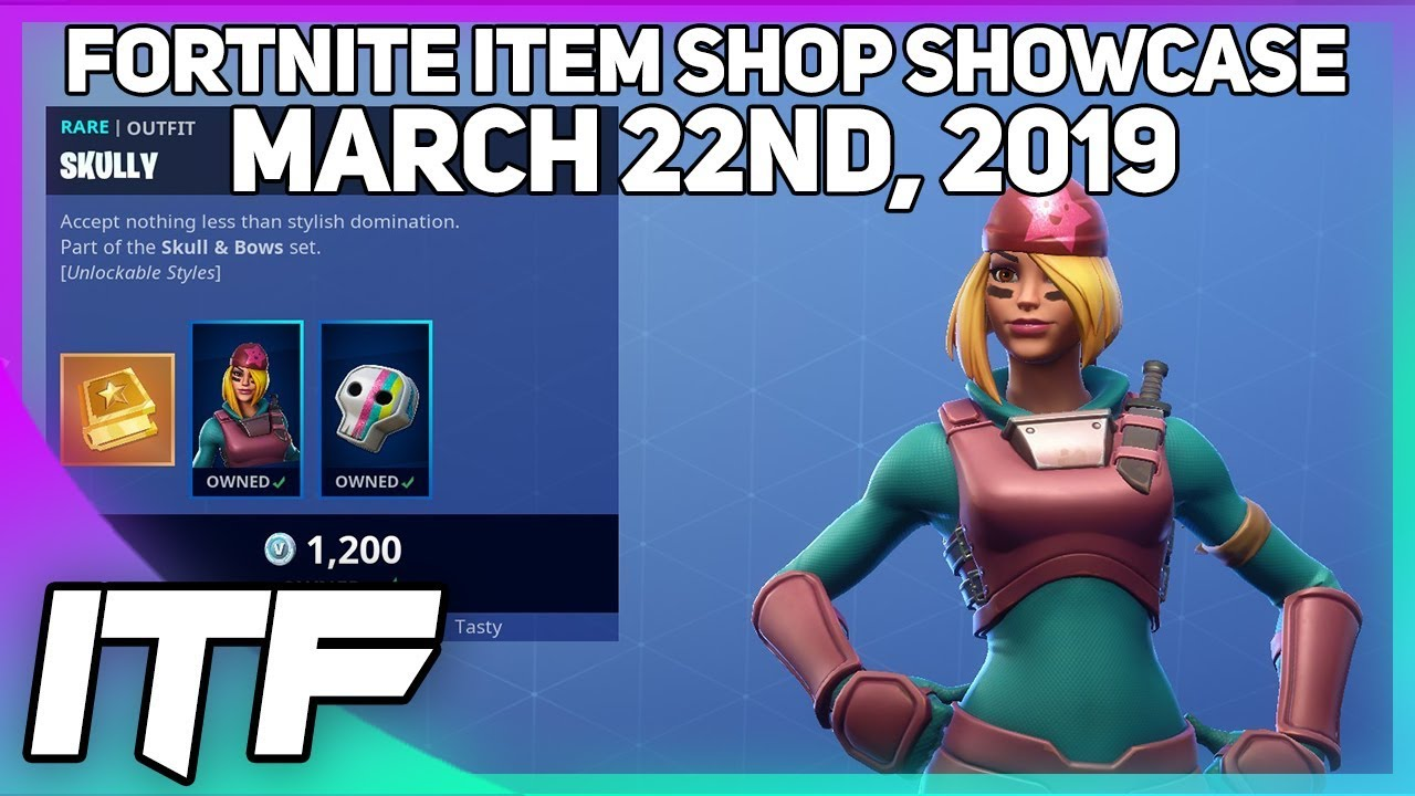 Photo of Fortnite Item Shop SKULLY IS BACK! [March 22nd, 2019] (Fortnite Battle Royale)