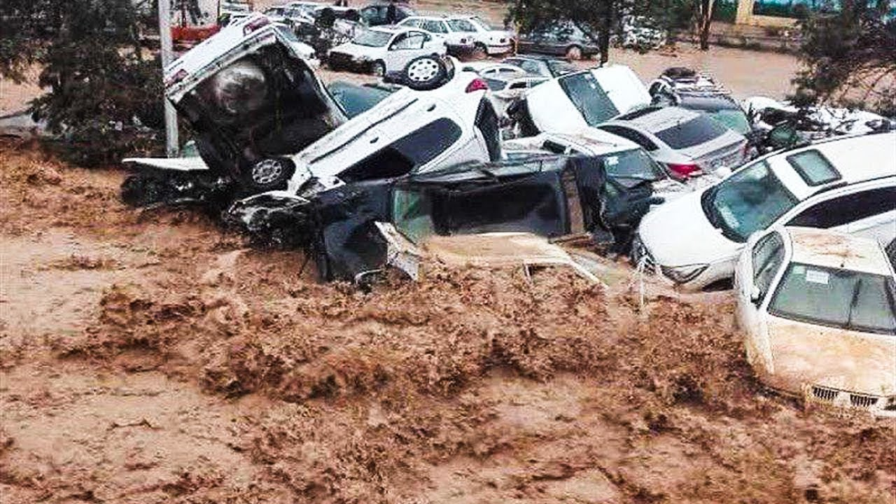 Photo of Crazy flooding in Shiraz, Iran (March 25, 2019)