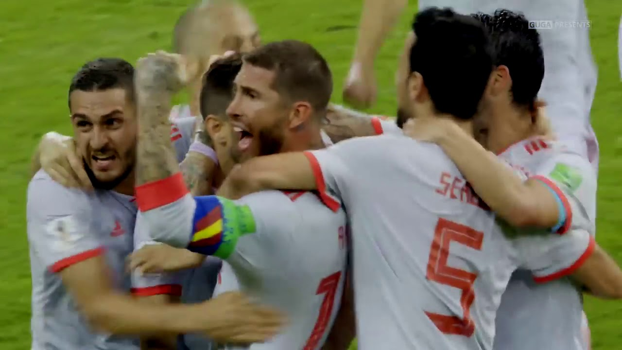 Portugal vs Spain 3 3   World Cup 2018   Highlights English Commentary UHD 4K