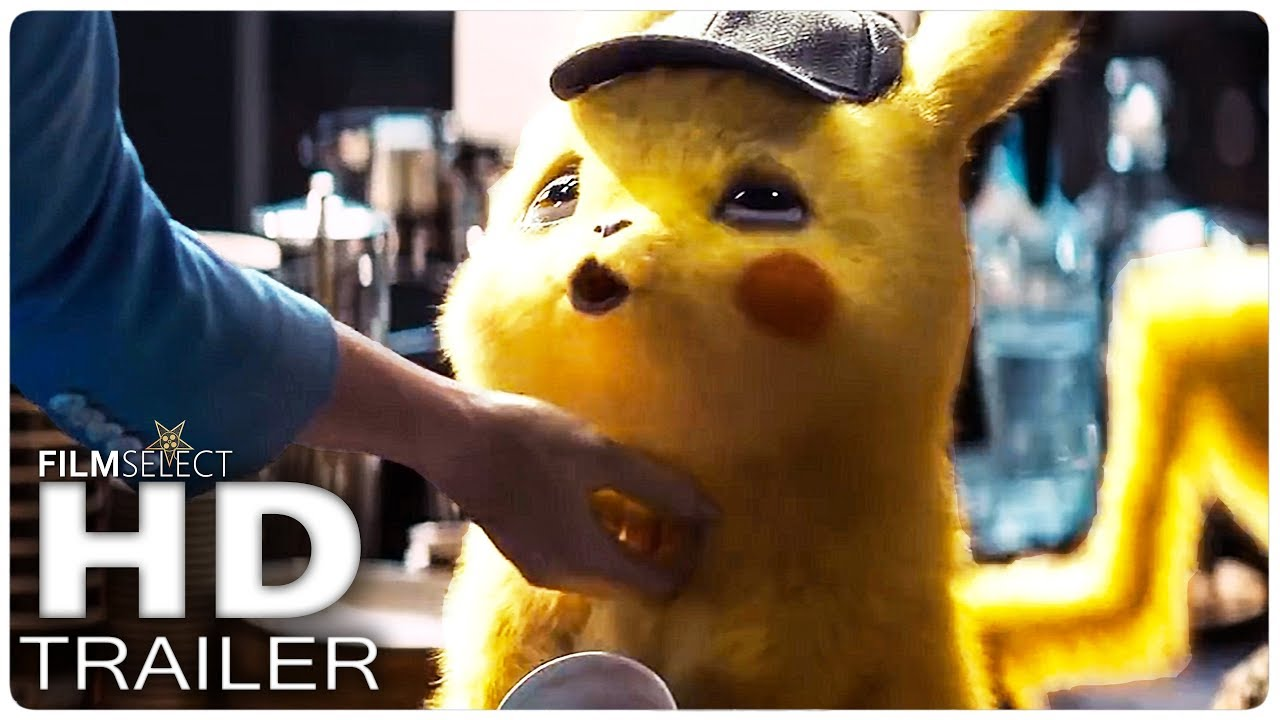 Photo of POKEMON DETECTIVE PIKACHU: No Clue Trailer (2019)