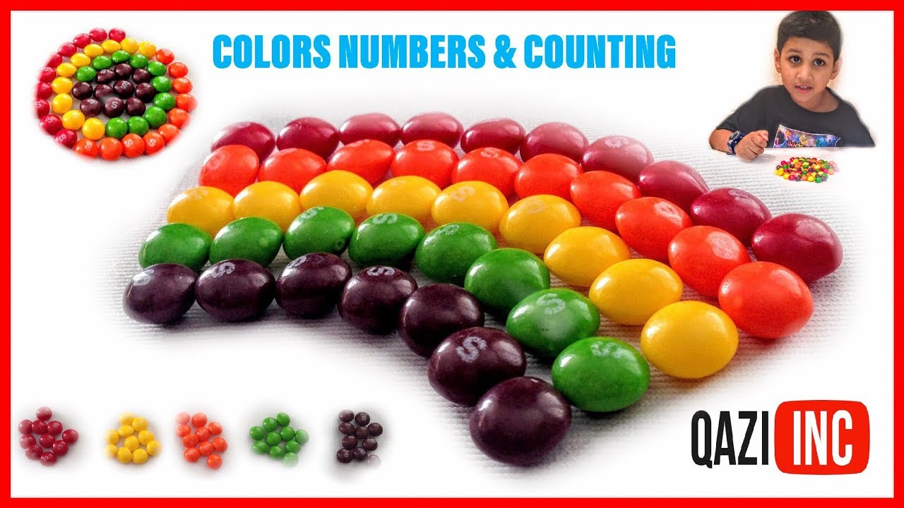 Photo of Numbers, Counting and Colors for Children.