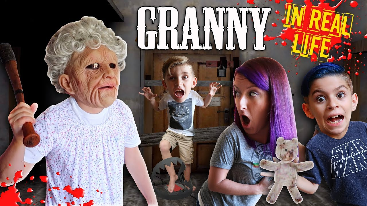 Photo of Granny Horror Game In Real Life! FUNhouse Family