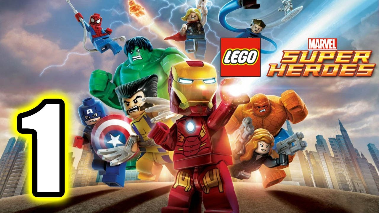 Photo of LEGO Marvel Super Heroes Walkthrough PART 1 [PS3] Lets Play Gameplay TRUE-HD QUALITY