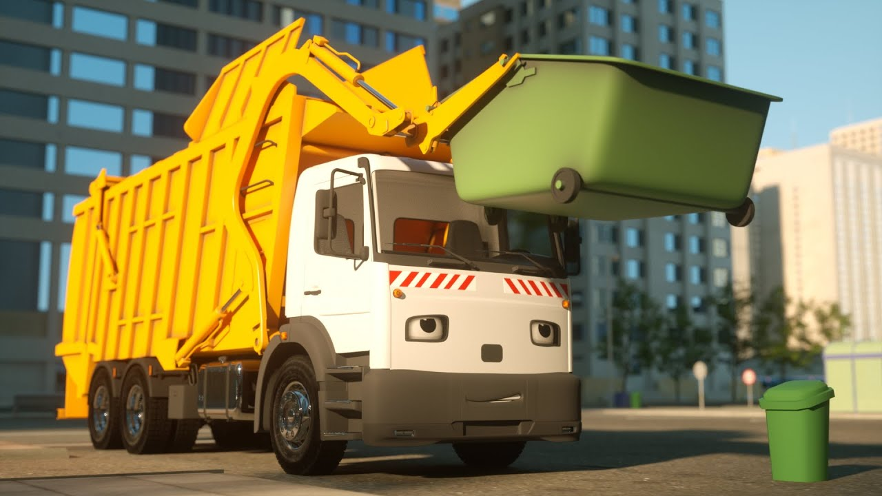 Photo of George the Garbage Truck – Real City Heroes (RCH) – Videos For Children