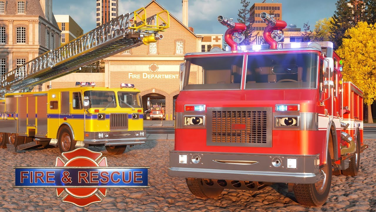 William Watermore the Fire Truck – Real City Heroes (RCH) | Videos For Children