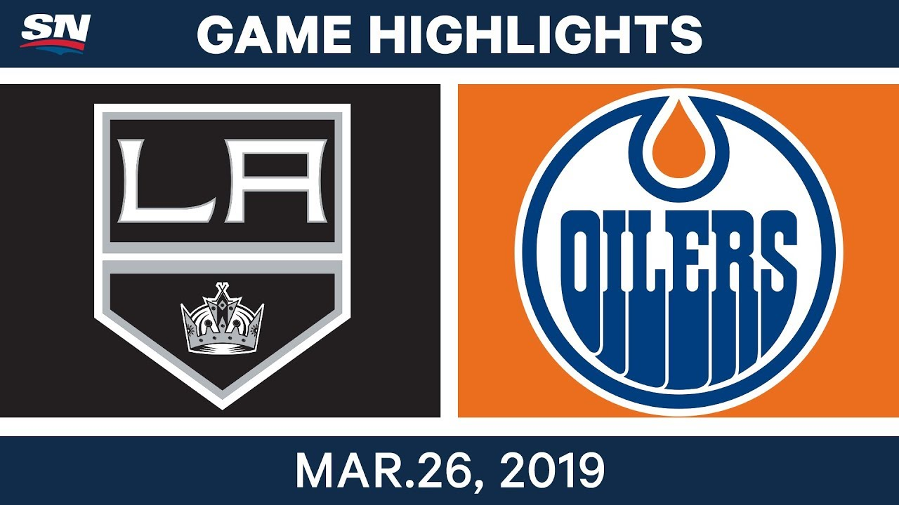 Photo of NHL Game Highlights | Kings vs. Oilers – March 26, 2019