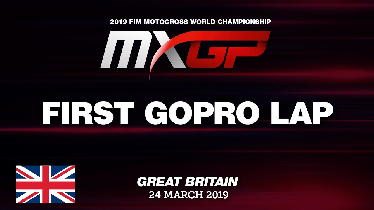 First GoPro Lap with Tim Gajser – MXGP of Great Britain 2019 #Motocross