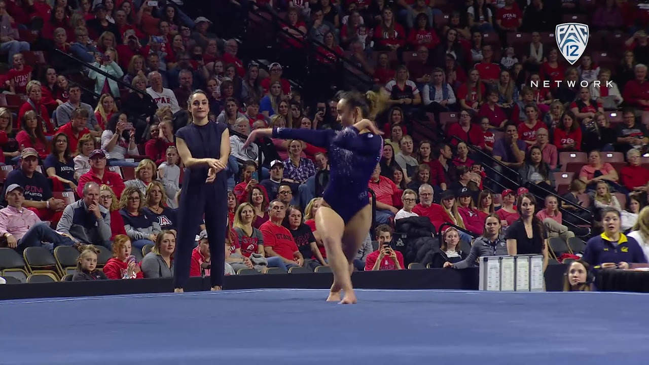 Photo of 2019 Pac-12 Women's Gymnastics Championship: UCLA's Katelyn Ohashi unveils new floor routine with…