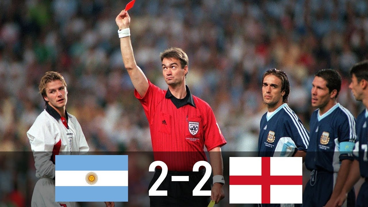 Photo of Argentina vs England 2-2 (4-3) – World Cup 1998 – Goals & Highlights