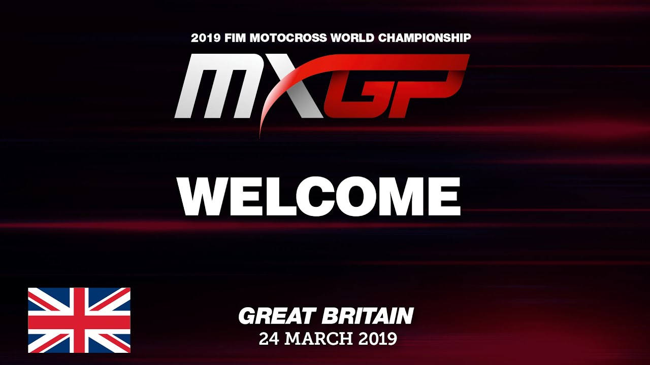 Welcome to the MXGP of Great Britain 2019 #motocross