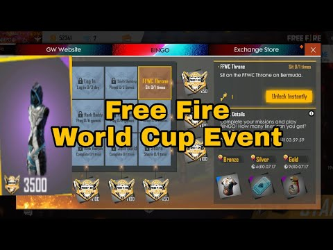 Photo of Free Fire world cup event | #freefire | Get free costume | New update