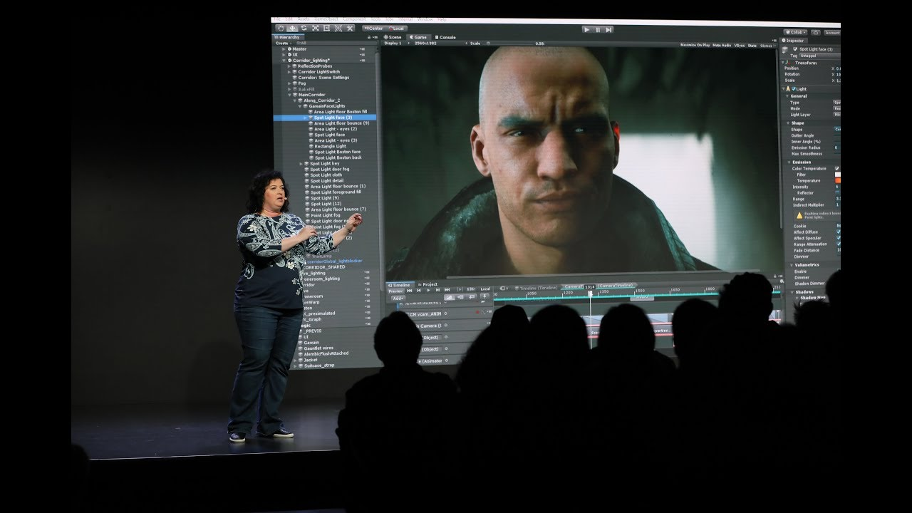 Photo of Unity at GDC 2019 Keynote Highlights