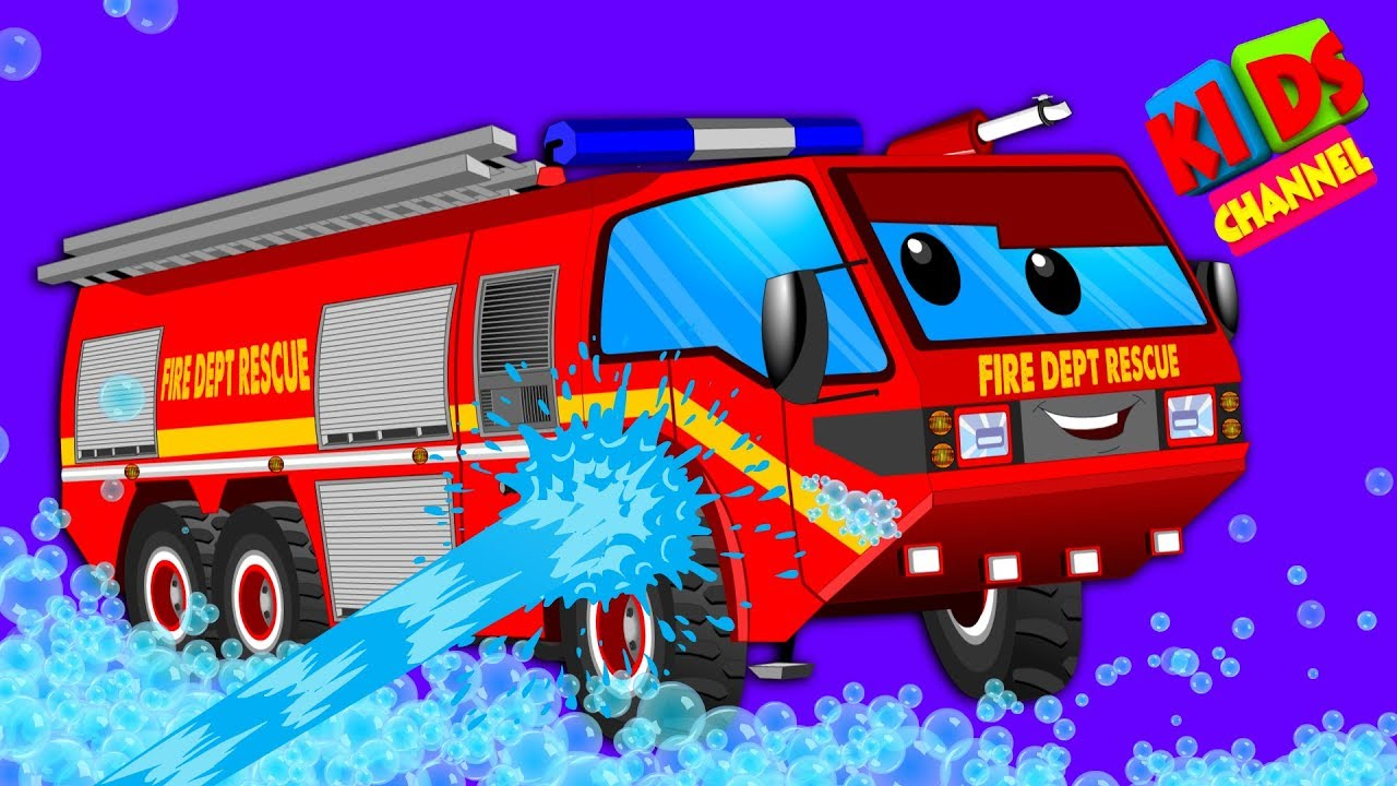 Photo of Car Wash | Fire Truck | Cartoon For Children | Trucks Kids Show | Toddlers Videos by Kids Channel