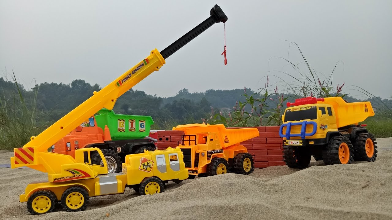 Photo of Trucks for children | Truck videos and crane for kids.