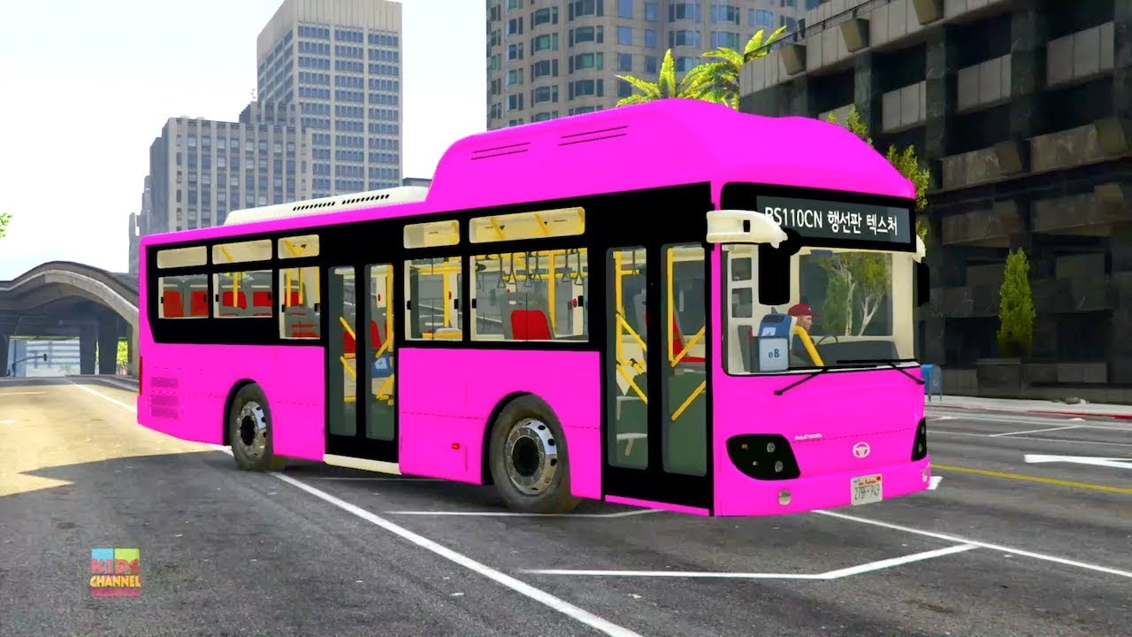 Photo of Color Bus Story | Car Cartoons | Videos For Children by Kids Channel