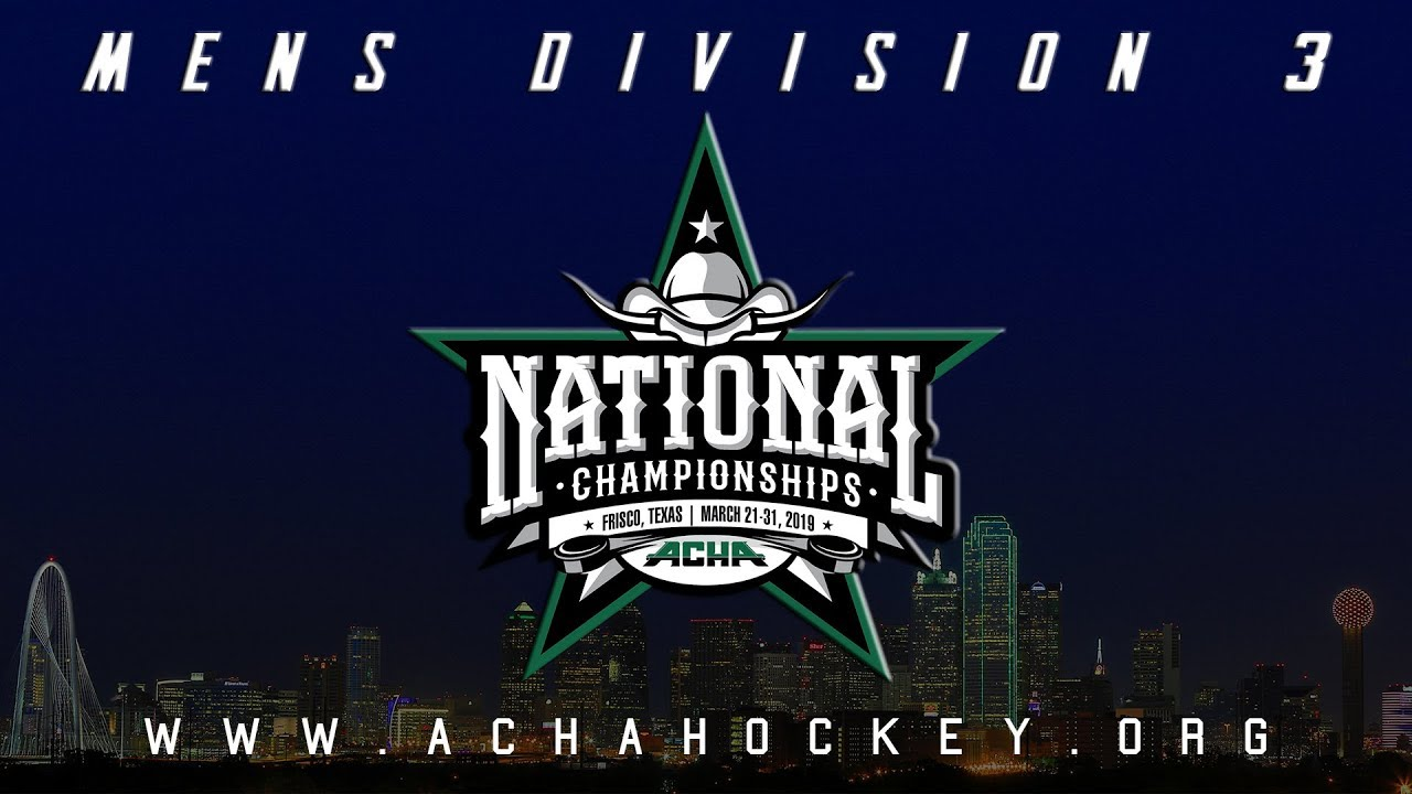 Photo of 2019 ACHA Men's D3 National Championships (Game 12): FAIRFIELD (A2) vs OAKLAND (N4)